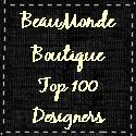 BeauMonde Boutique Top 100 Designers